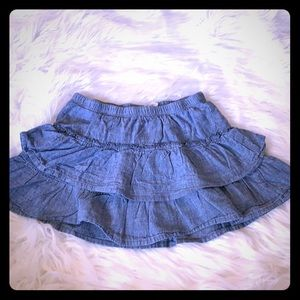 Circo Denim Ruffle Skirt $10 or 5/$25